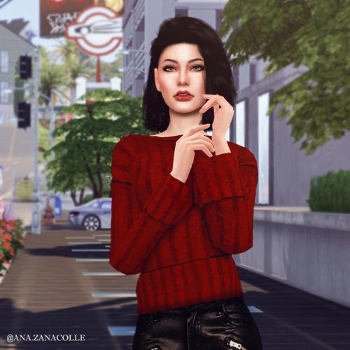Ana Zanacolle: Mandy Sim