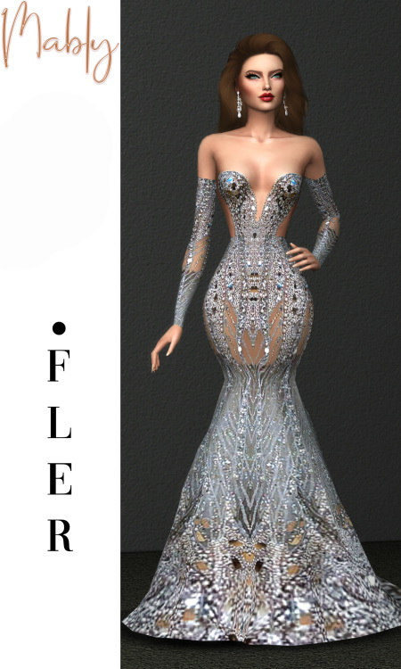 Mably Store: Fler Gown