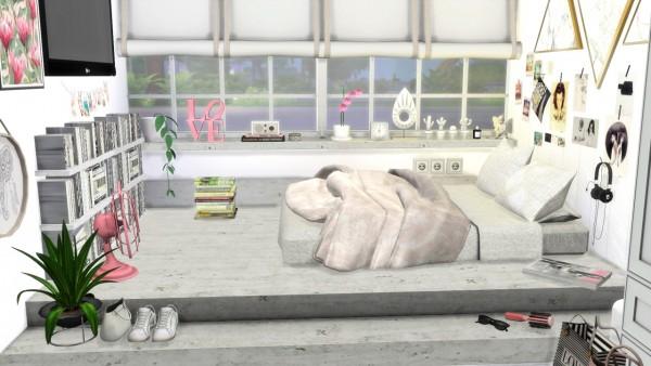 Models Sims 4: Scandinavian Girls Room