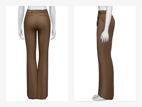 The Sims Resource: Lulu Pants V2 by Nords