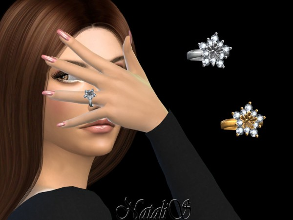 The Sims Resource: Winter flower ring by Natalis