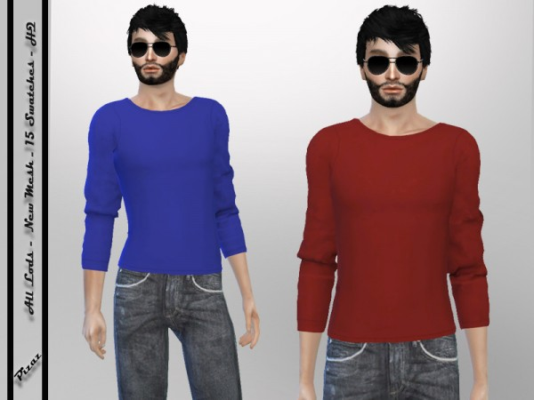 The Sims Resource: Mens Casual shirt by pizazz