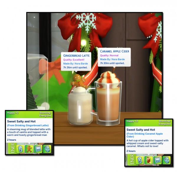 Mod The Sims: Custom Hot Beverage   Winter 2019 Edition by icemunmun
