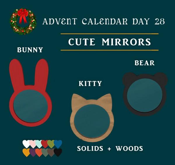 Leo 4 Sims: Cute Mirrors