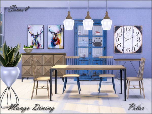 The Sims Resource: Mango Dining by Pilar