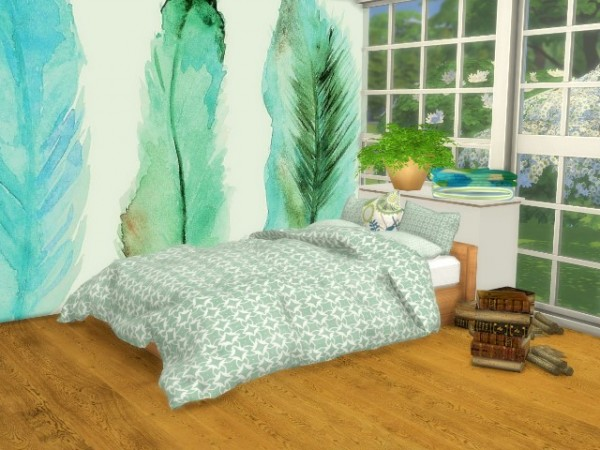 All4Sims: Bed, Bedding and Pillows by Oldbox