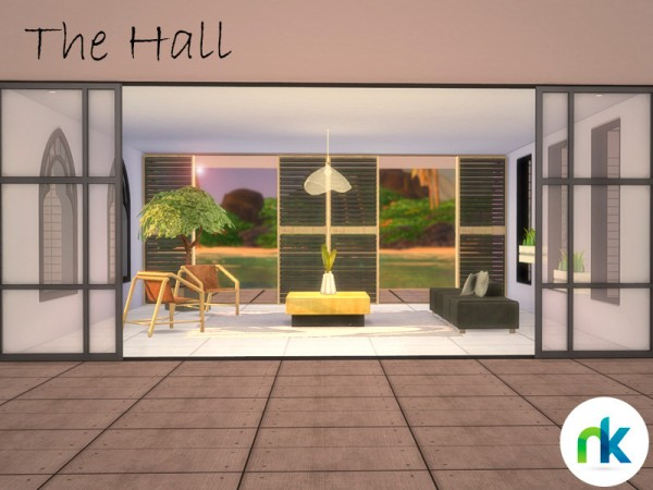 The Sims Resource: The Hall by Nikadema