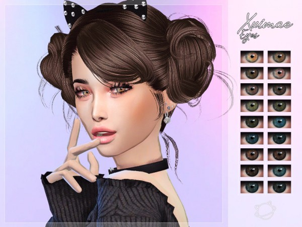 The Sims Resource: Xuimei Eyes by YuumiaUniverse