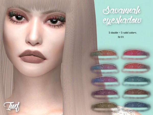 The Sims Resource: Savannah Eyeshadow N.117 by IzzieMcFire