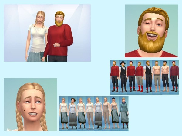 KyriaTs Sims 4 World: The Fjordsund Founders
