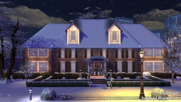 Frau Engel Home Alone House Two Versions Sims 4 Downloads