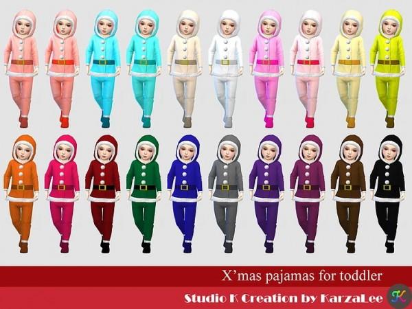 Studio K Creation: Xmas pajamas for toddler