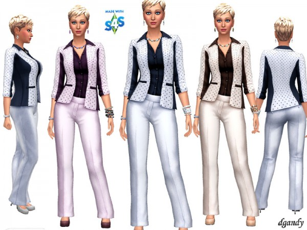 The Sims Resource: Career Line   Power Suit 20191203 by dgandy