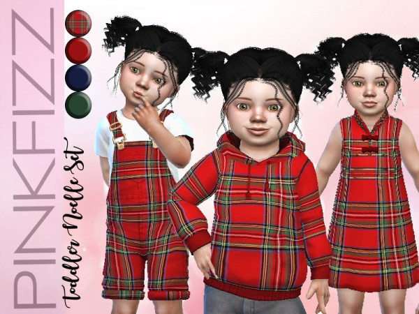 The Sims Resource: Toddler Noelle Set by Pinkfizzzzz