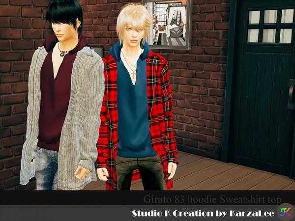Studio K Creation: Giruto 83 hoodie sweatshirt top