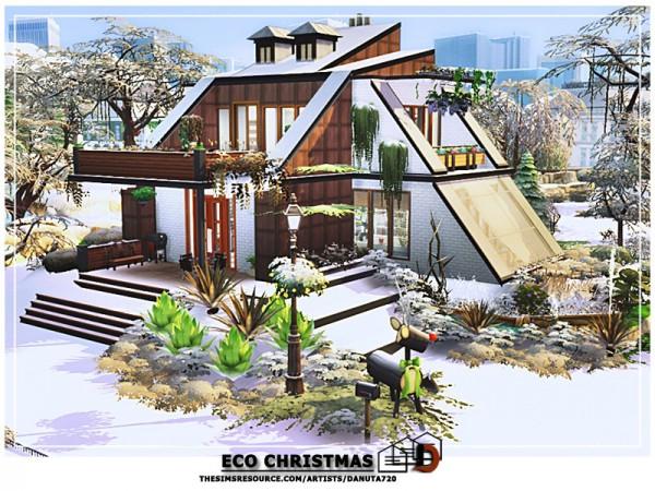 The Sims Resource: Eco Christmas House by Danuta720