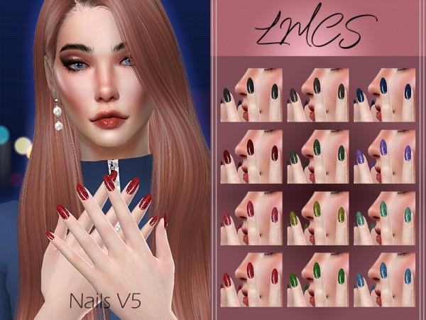 The Sims Resource: Nails V5 by Lisaminicatsims