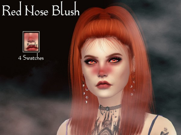 The Sims Resource: Red Nose Blush by Reevaly