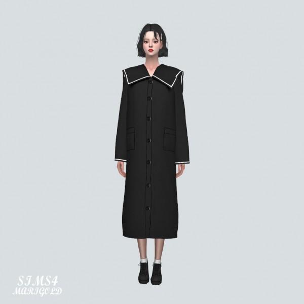 SIMS4 Marigold: Lovely Sailor Long Coat