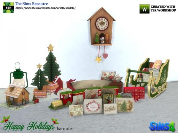 The Sims Resource: Happy Holidays II by kardofe