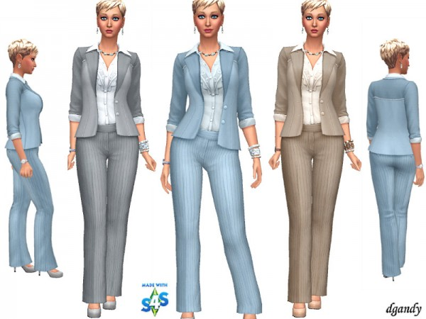 The Sims Resource: Career Line   Power Suit 20191204 by dgandy