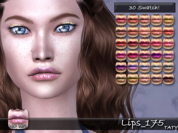 The Sims Resource: Lips 175 by Taty