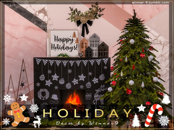 The Sims Resource: Holiday Decorations by