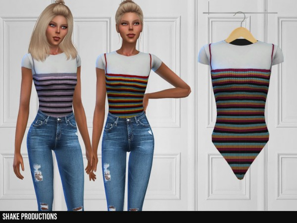 The Sims Resource: 350   Bodysuit by ShakeProductions