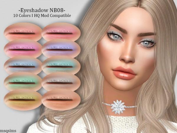 MSQ Sims: Eyeshadow NB08
