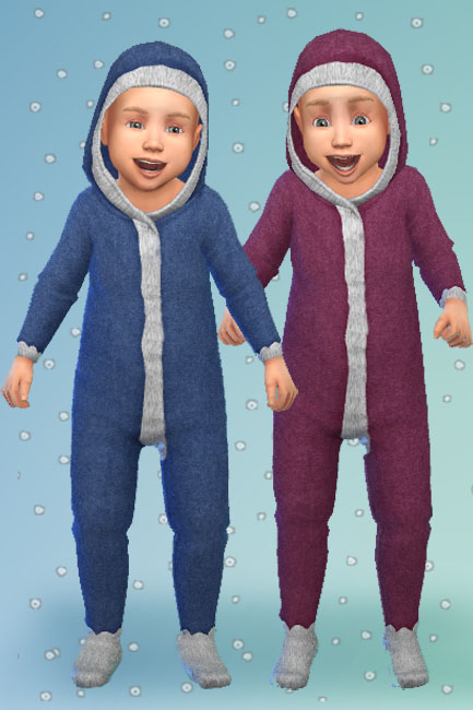 Blackys Sims 4 Zoo: Todd   Outfit Winter 1 by mammut