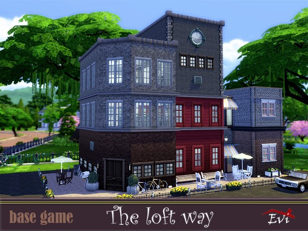The Sims Resource: The loft way by evi