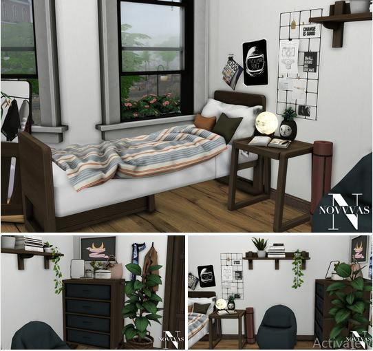 NOVVAS: Dorm Set Office