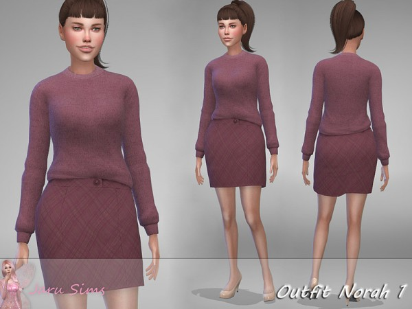 The Sims Resource: Outfit Norah 1 by Jaru Sims