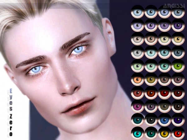 The Sims Resource: Eyes Zero by ANGISSI