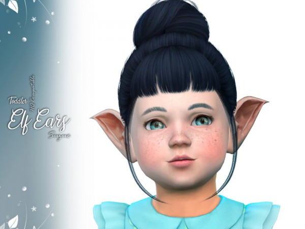 The Sims Resource: Toddler Elf Ears by Suzue