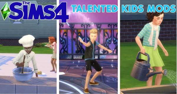 Mod The Sims: Talented Kids Sim Mods by Zulf Ferdiana