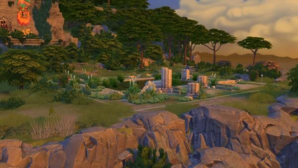 Mod The Sims: Bohemian Bluffs Outdoor Wedding Venue by Lahawana