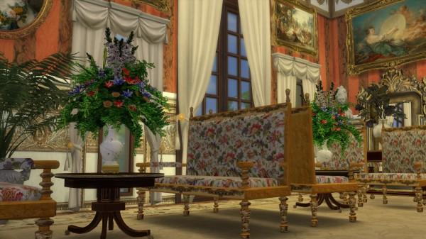 Regal Sims: Louis XIII Sofa and Armchair