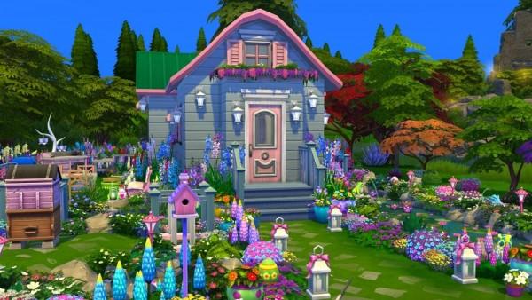 Luniversims: Tiny girly house by  bananasims