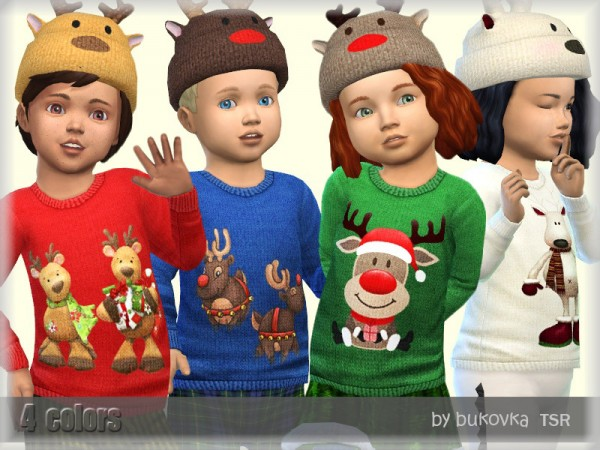 The Sims Resource: Sweater Deer by bukovka
