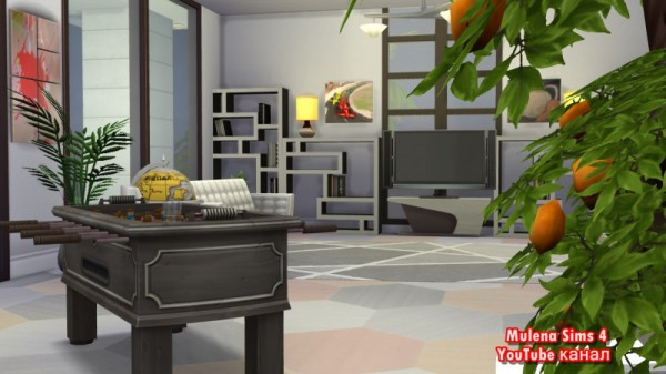 Sims 3 by Mulena: Modern luxury mansion