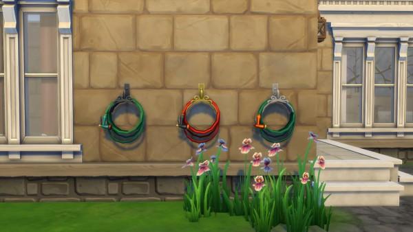 Mod The Sims: Garden Hose Sprinkler System by Teknikah
