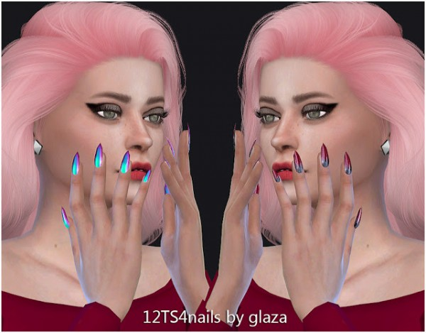 All by Glaza: Nails 12