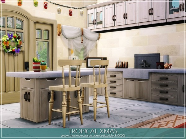 The Sims Resource: Tropical Xmas by MychQQQ