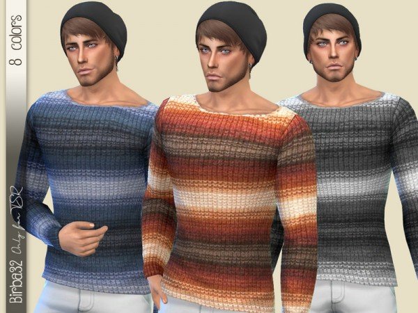 The Sims Resource: Knitted sweater by Birba32