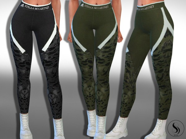 The Sims Resource: Exclusive S. Leggings by Saliwa