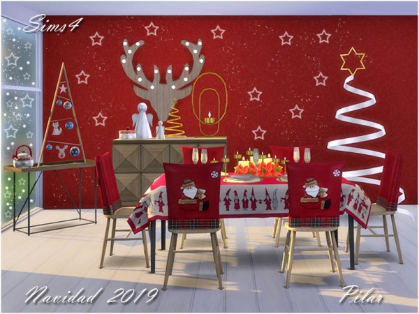 The Sims Resource: Navidad 2019 by Pilar