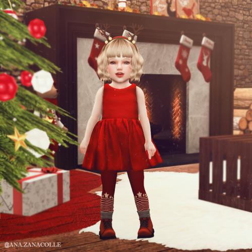 Ana Zanacolle: Little Christmas Dress
