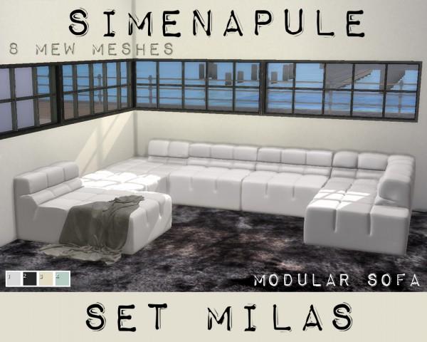 Simenapule: Modular Sofa