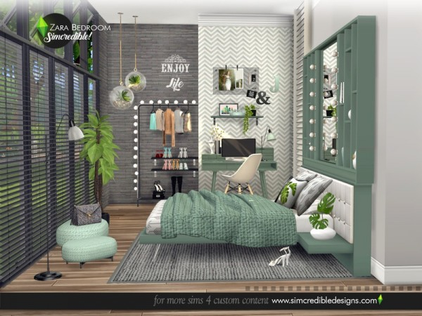 The Sims Resource: Zara Bedroom by SIMcredible!
